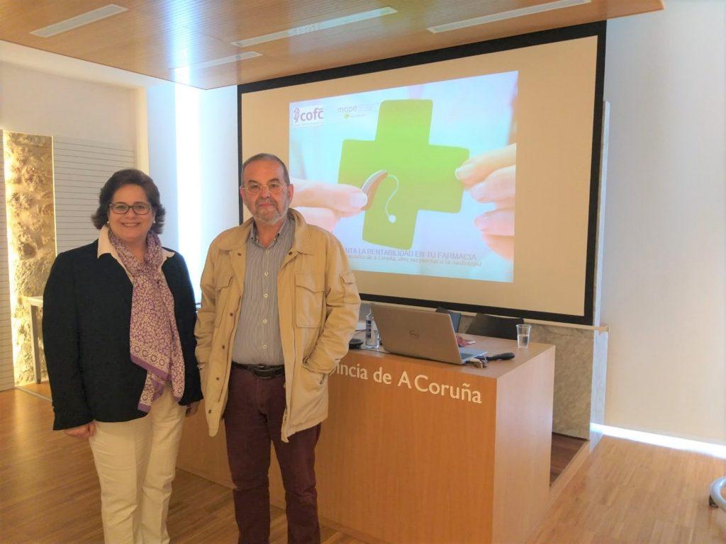 Visita COF A Coruña mope audiología