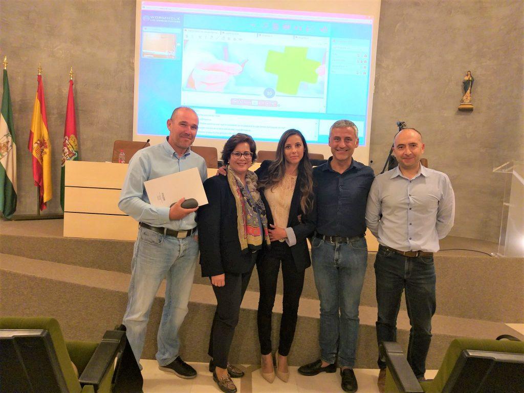 Visita COF Granada mope audiología