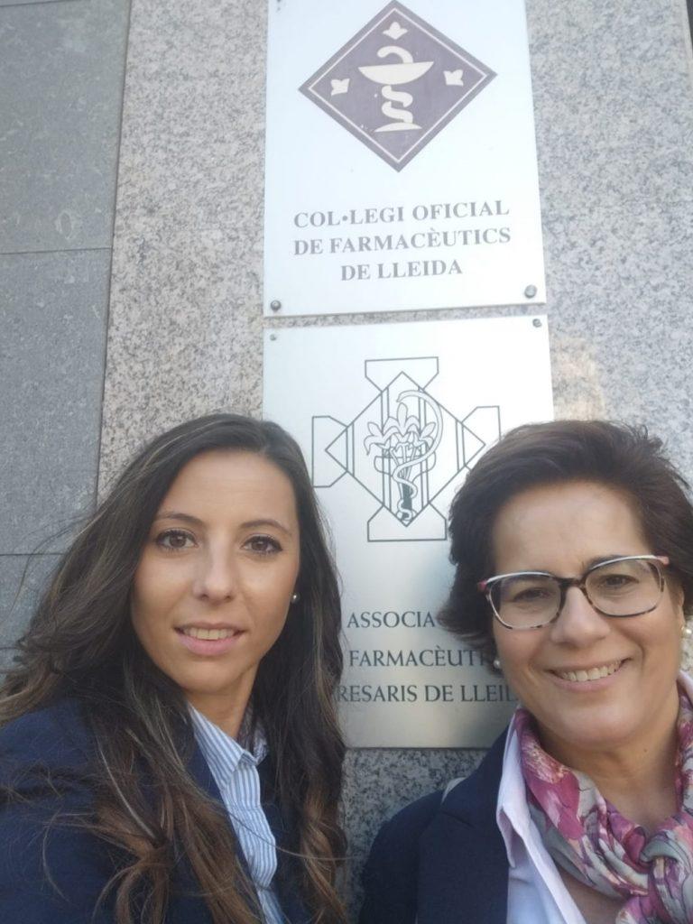 Visita COF Lleida mope audiología