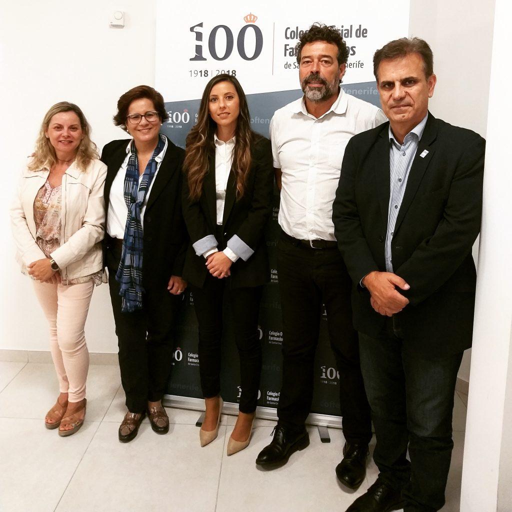 visita de mope al COF de Tenerife mope audiología