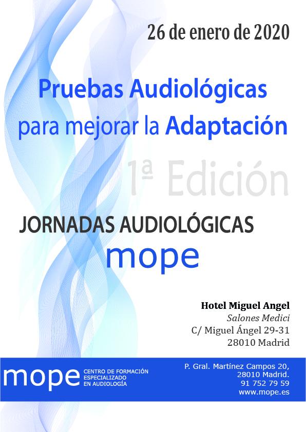 1ª jornada audiológica mope mope